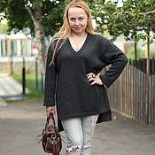"""Одежда ручной работы. Ярмарка Мастеров - ручная работа Теплое платье -свитер """"Встречая осень - 2"""". Handmade."""