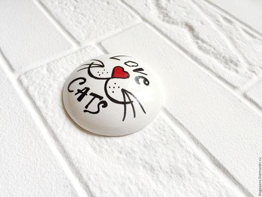 Подарки для влюбленных ручной работы. Ярмарка Мастеров - ручная работа. Купить Маленький сюрприз для любимых. Магнит. День Святого Валентина.. Handmade.