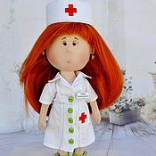 Портретная кукла ручной работы. Ярмарка Мастеров - ручная работа Кукла врач.Кукла по фотографии.. Handmade.