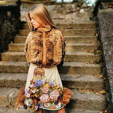 Одежда ручной работы. Ярмарка Мастеров - ручная работа Юбки: Завтра была осень..... Handmade.