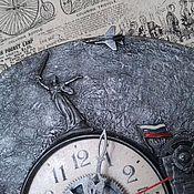 Часы классические ручной работы. Ярмарка Мастеров - ручная работа Часы стимпанк (steampunk) - Родина - мать. мастер Ольга Тувина. Handmade.
