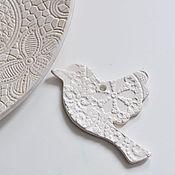 Для дома и интерьера ручной работы. Ярмарка Мастеров - ручная работа интерьерная декоративная подвеска украшение для дома елочное украшение. Handmade.