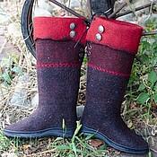 """Обувь ручной работы. Ярмарка Мастеров - ручная работа Сапоги из войлока """" Атамань"""". Handmade."""