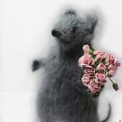 Куклы и игрушки handmade. Livemaster - original item Mouse. Handmade.