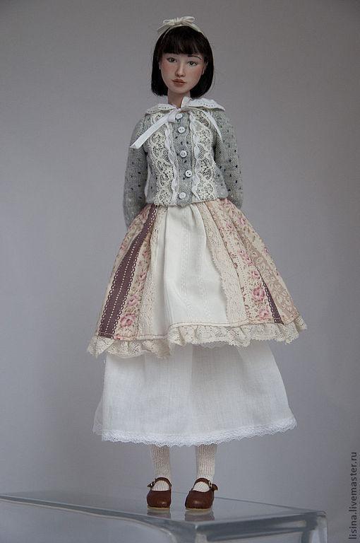 """Коллекционные куклы ручной работы. Ярмарка Мастеров - ручная работа. Купить шарнирная фарфоровая кукла """"Юки Мори"""", продана. Handmade."""