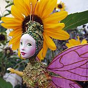Куклы и игрушки ручной работы. Ярмарка Мастеров - ручная работа Кукла Маленькая бабочка. Handmade.