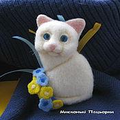 Украшения handmade. Livemaster - original item Felted brooch wool handmade