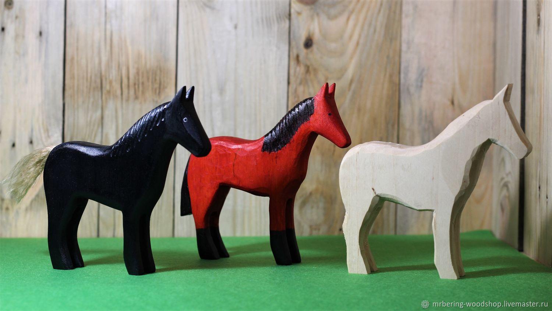 Лошади, Вальдорфские куклы и звери, Киров,  Фото №1