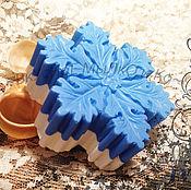 """Косметика ручной работы. Ярмарка Мастеров - ручная работа Мыло для рук """"Снежинка маленькая"""". Handmade."""