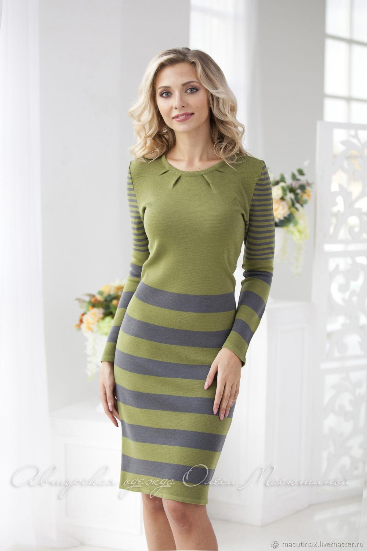 Dress ' Green edge', Dresses, St. Petersburg,  Фото №1
