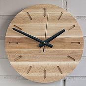 Часы классические ручной работы. Ярмарка Мастеров - ручная работа Часы настенные деревянные (№8). Handmade.
