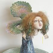 """Куклы и игрушки ручной работы. Ярмарка Мастеров - ручная работа """"Сирена"""" интерьерная композиция. Handmade."""