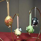 """Подарки к праздникам ручной работы. Ярмарка Мастеров - ручная работа Набор пасхальных яиц """"Времена года"""". Handmade."""
