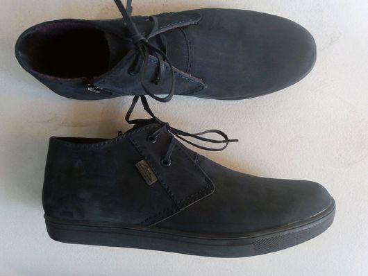 """Обувь ручной работы. Ярмарка Мастеров - ручная работа. Купить Ботинки модель """"Тучи"""" кеды-чукка. Handmade. Кеды на заказ"""