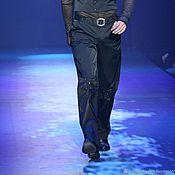 Одежда handmade. Livemaster - original item AAm_012 Pants rose/lap, black. Handmade.