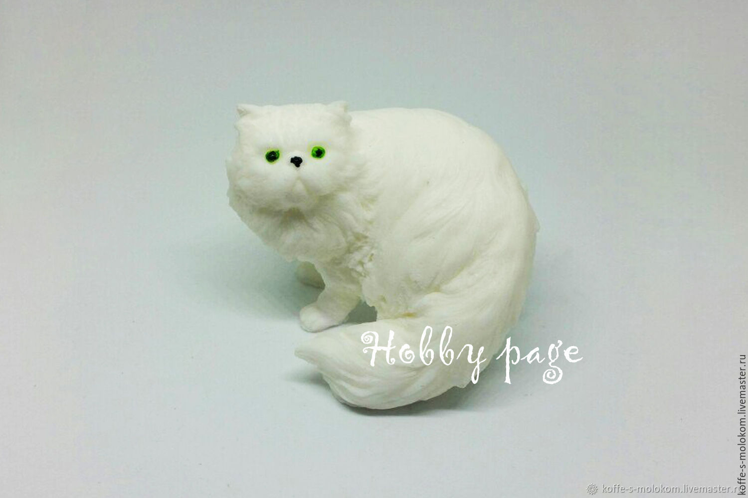 8e55f5a62de8 Cosmetic Materials handmade. Silicone molds for soap cat Persian.  Hobbypage. Online shopping on