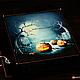 """Фотоальбом из натуральной замши """"Хэллоуин"""" (Halloween), Фотоальбомы, Москва,  Фото №1"""