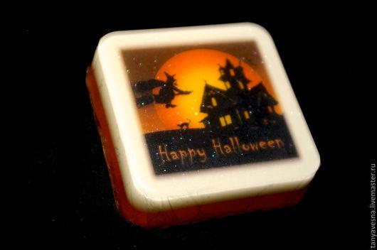 Подарки на Хэллоуин ручной работы. Ярмарка Мастеров - ручная работа. Купить Светящееся мыло Хеллоуин Ведьма в коробочке. Happy Halloween!. Handmade.