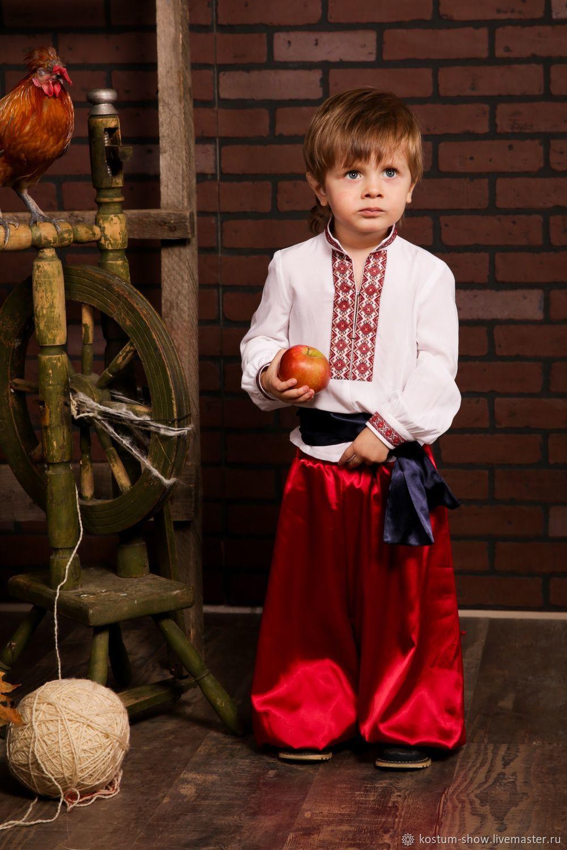 Шаровары детские, Народные костюмы, Москва,  Фото №1