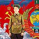 Детская военная форма пограничника образца 1941 года, Комплекты одежды, Щелково,  Фото №1