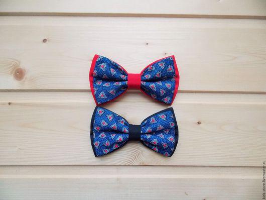 """Детские аксессуары ручной работы. Ярмарка Мастеров - ручная работа. Купить Детская галстук бабочка """"Итальяно"""" / бабочка галстук. Handmade."""