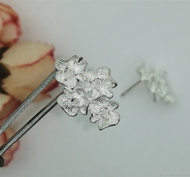 Basis for earrings Art. OS04, Blanks for jewelry, Irkutsk,  Фото №1