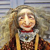 Куклы и игрушки ручной работы. Ярмарка Мастеров - ручная работа Кукла Баба-Яга.. Handmade.