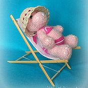 Куклы и игрушки ручной работы. Ярмарка Мастеров - ручная работа бегемошка Сима. Handmade.