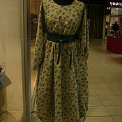 Одежда ручной работы. Ярмарка Мастеров - ручная работа Платье/платье для беременных/платье длинное/платье из льна/. Handmade.