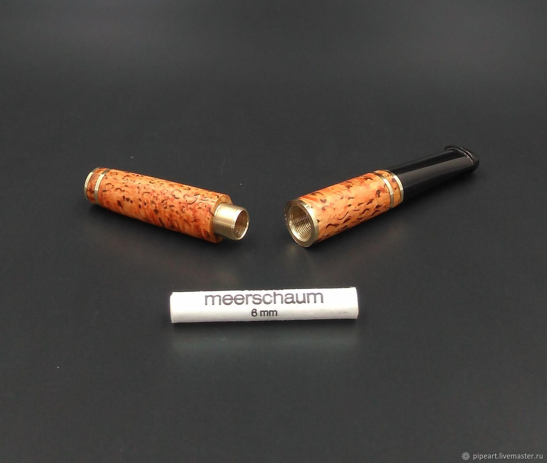 Сigarette holder 2-63 karelian birch, Cigarette holder, Moscow,  Фото №1