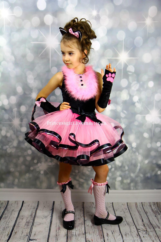 Новогодний костюм кошки для девочки своими руками фото 716