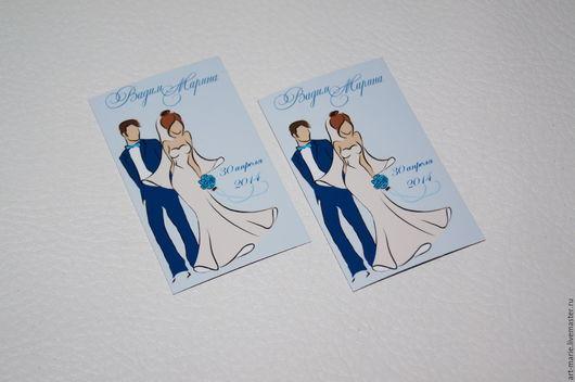 Магниты ручной работы. Ярмарка Мастеров - ручная работа. Купить Silhouettes... Свадебные магниты для гостей. Handmade. Свадебные магниты