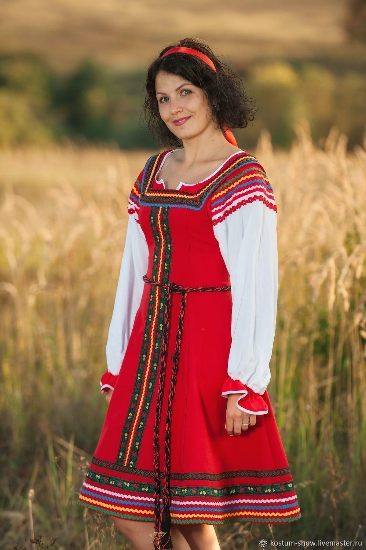 Костюм в русском стиле арт.1216, Народные костюмы, Москва,  Фото №1