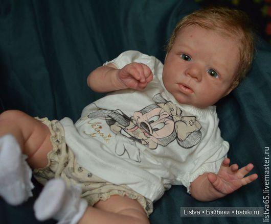 Куклы-младенцы и reborn ручной работы. Ярмарка Мастеров - ручная работа. Купить Милли от Ольги Ауэр. Продана. Handmade. Бежевый