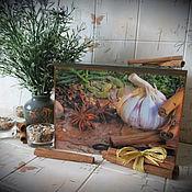 """Для дома и интерьера ручной работы. Ярмарка Мастеров - ручная работа Короб для хранения """"Лавровый лист"""". Handmade."""