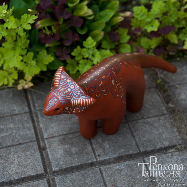 Alien animal, figurine made of papier-mache – shop online on ...