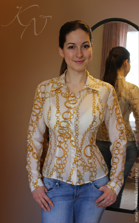 Blouse Long Sleeve, Blouses, Moscow,  Фото №1