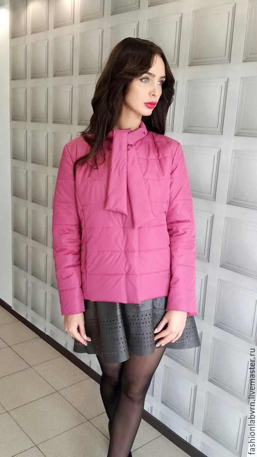 """Верхняя одежда ручной работы. Ярмарка Мастеров - ручная работа. Купить Куртка дизайнерская """"Брусничный вкус"""". Handmade. Куртка"""