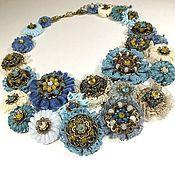 Украшения handmade. Livemaster - original item Fairy Blue Mist. necklace.. Handmade.