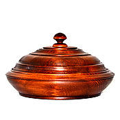 Для дома и интерьера handmade. Livemaster - original item a jug with a lid from natural siberian cedar bowl with lid k33. Handmade.