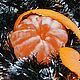 Новый год 2017 ручной работы. Ярмарка Мастеров - ручная работа. Купить Мандарин. Handmade. Оранжевый, Новый Год, подарок