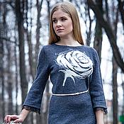 """Одежда ручной работы. Ярмарка Мастеров - ручная работа платье """"Белая роза"""". Handmade."""