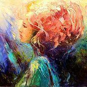 Картины и панно handmade. Livemaster - original item Oil painting - Sea Princess. Handmade.