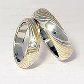 """Свадебный салон ручной работы. Ярмарка Мастеров - ручная работа Обручальные кольца """"Платиновые"""". Handmade."""