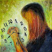 Картины и панно ручной работы. Ярмарка Мастеров - ручная работа Текущее сквозь пальцы время. Handmade.