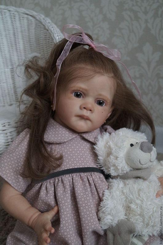 Куклы-младенцы и reborn ручной работы. Ярмарка Мастеров - ручная работа. Купить Софи. Handmade. Розовый, синтепух