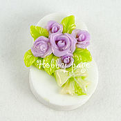 Form handmade. Livemaster - original item Silicone mold for soap, March 8 bouquet of roses. Handmade.