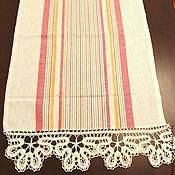 Для дома и интерьера handmade. Livemaster - original item kitchen towel linen daisies. Handmade.