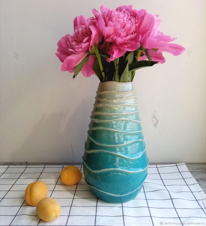 Вазы ручной работы. Ярмарка Мастеров - ручная работа. Купить Ваза керамическая. Handmade. Ваза, ваза для цветов, вереск