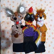 Куклы и игрушки handmade. Livemaster - original item Set of theatrical glove dolls for the theater screen.. Handmade.